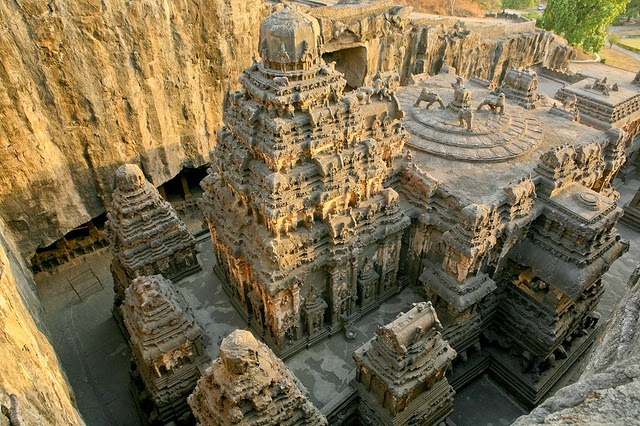 The Amazing Rock cut Kailasa Temple of India