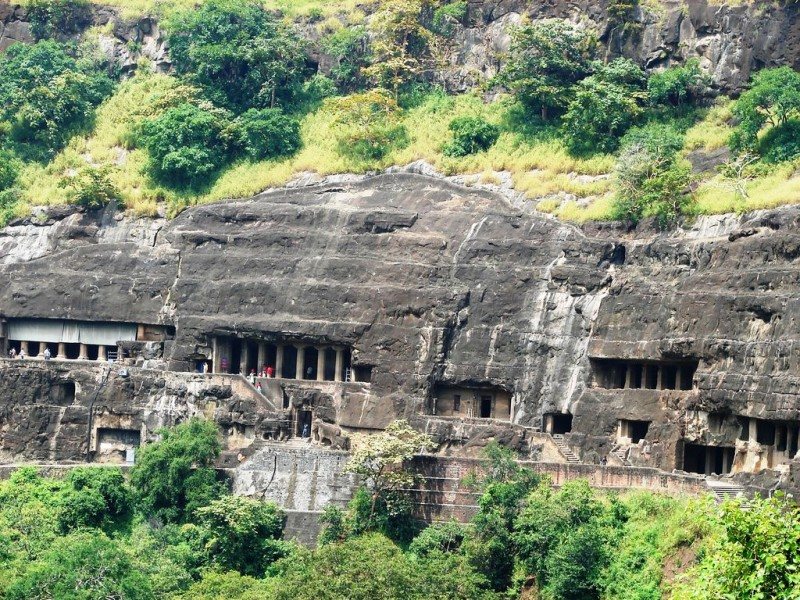 Top 15 Rock-Cut Caves: Ajanta Caves, India