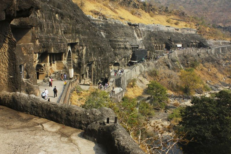 Rock Cut Ajanta Caves, India