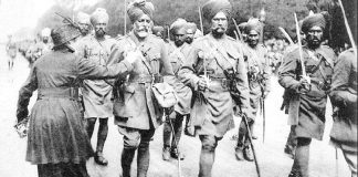 Sikh soldiers in Paris during World War I