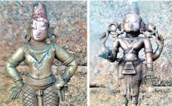 Idol of Lord Vitthala and Lord Janardhana found at Janardhana Temple