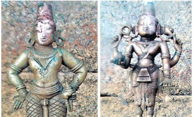 Idol of Lord Vitthala and Lord Janardhana found at Janardhana Temple