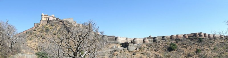 Kumbhalgarh fort - Great wall of India