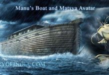 King Manu's Boat, Pralaya and Matsya Avatar vs Noah's Ark and Great Flood