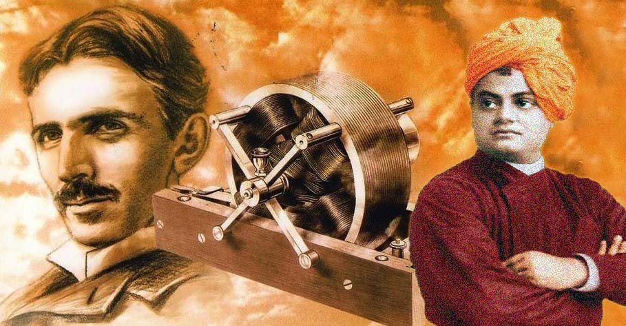 Nikola Tesla was Influenced by Swami Vivekananda | Swami Vivekananda and Nikola Tesla