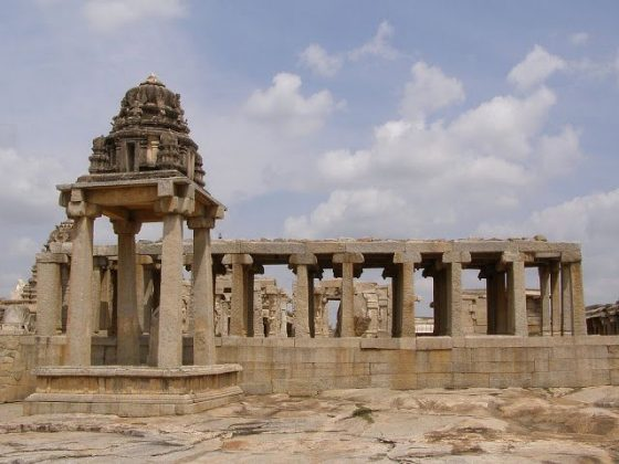 Ruins of Lepakshi temple