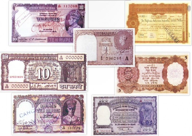 Indian Rupees during British Raj