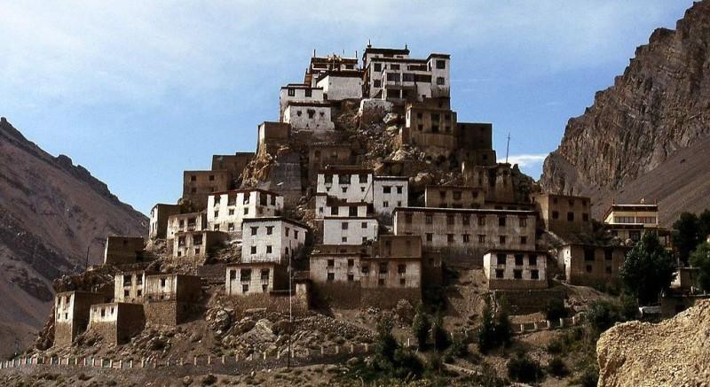The Beautiful Key Monastery,