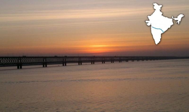 Asia's Longest Rail Cum Road Bridge, Godavari River