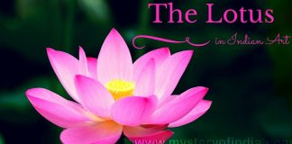 The lotus in Indian Art