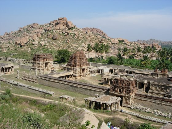 Achyutaraya temple in hampi India