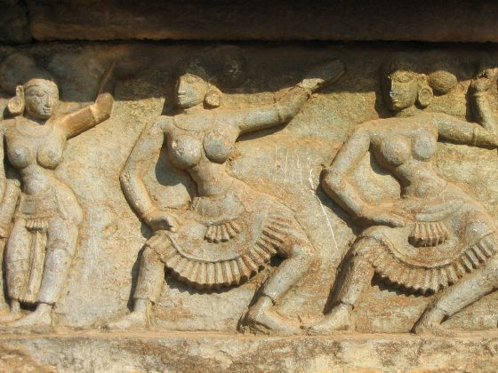 Detail from Kings's Palace, Hampi, Vijananagar