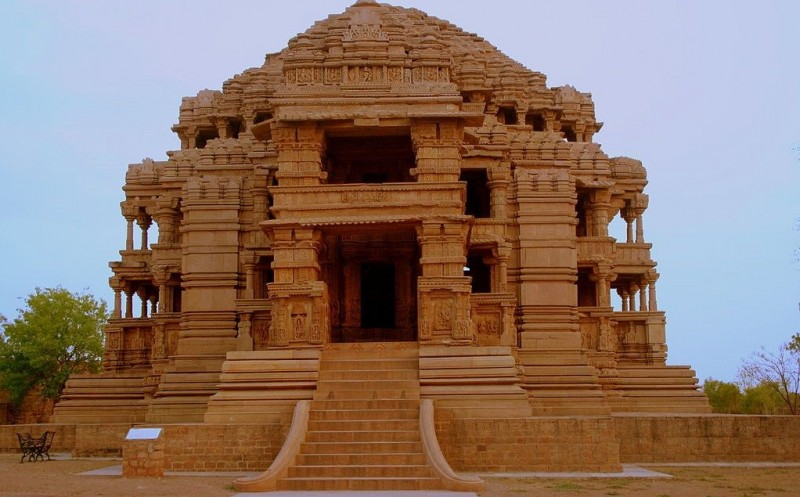 Sas Bahu Temple in Gwalior