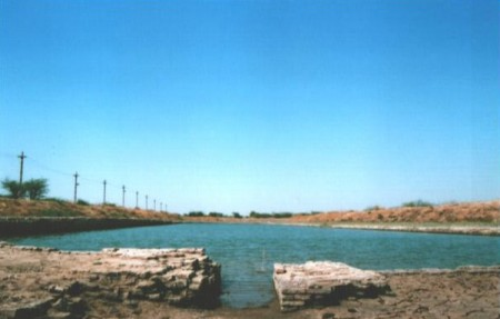 dock with canal in Lothal