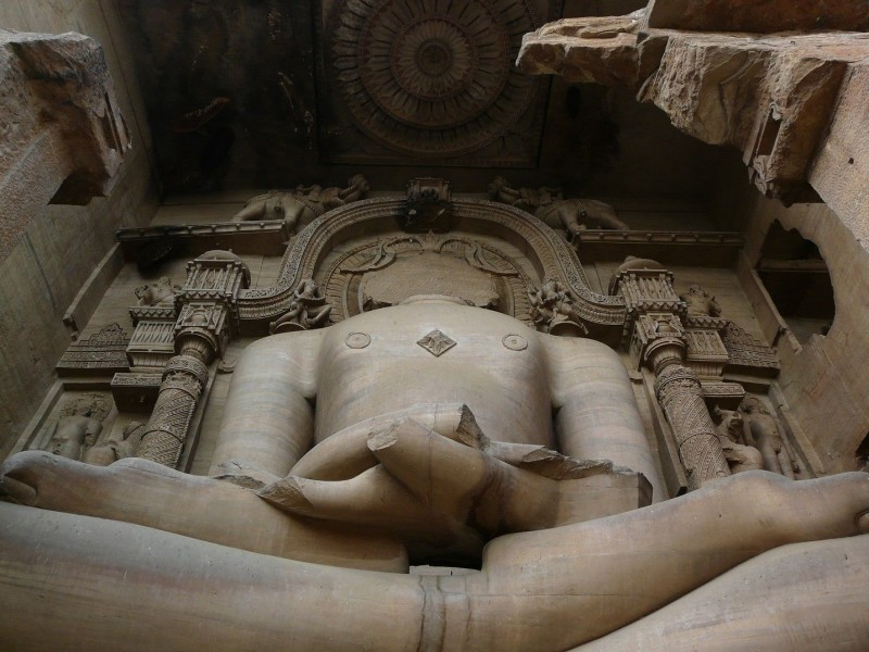 Jain Temple and Rock Sculptures of Gwalior Fort (1)