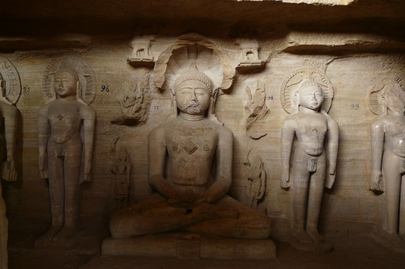 Jain Temple and Rock Sculptures of Gwalior Fort (7)