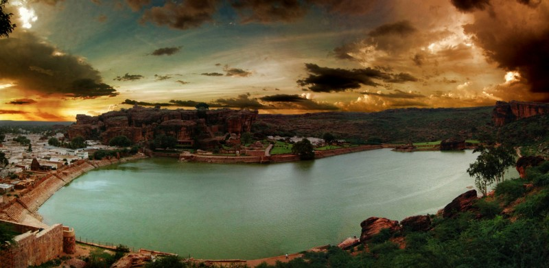 Panoramic View of Badami
