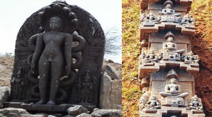 800-Year-Old Jain Inscription