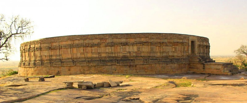 Chausath Yogini Temple, circular in plan