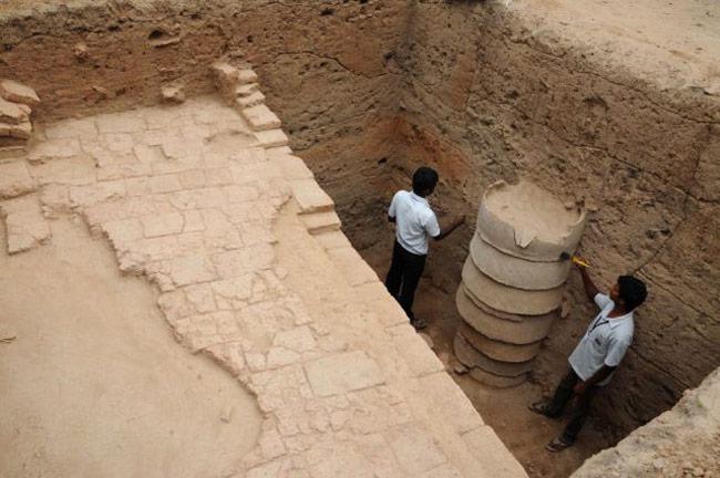Excavation at Madhurai 2015