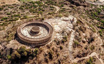 aerial-view-of-Mitawali-Temple