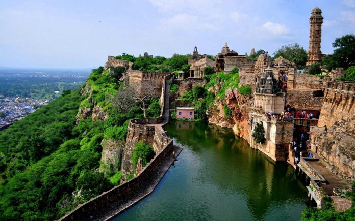 Chittorgarh Fort is the largest fort in India