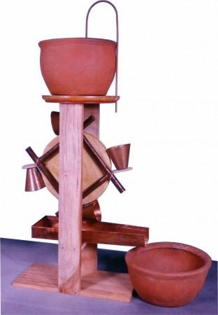 Time measuring machine of Bhaskaracharya