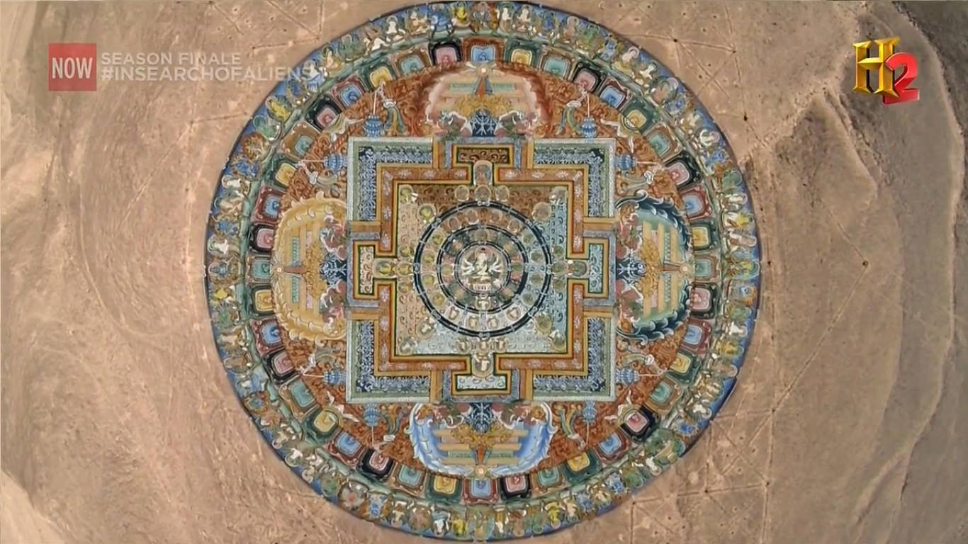 Indian Mandala Found In Perus Nazca Lines Mystery Of India