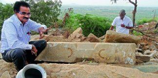 buddhist pillar found under temple