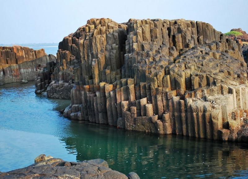 Basalt Rocks - St Mary's Islands of Malpe