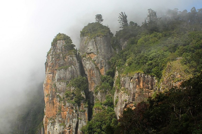 The Kodaikanal Pillar Rocks
