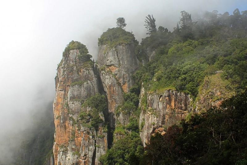 The Kodaikanal Pillar Rocks