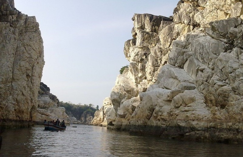 Marble Rock Narmada River