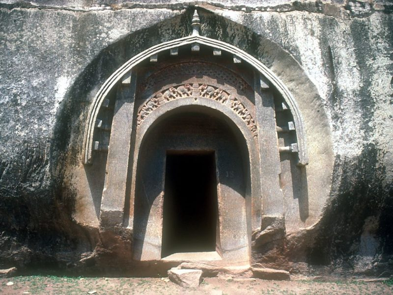 Top 15 Rock cut structures: Barabar Caves, India