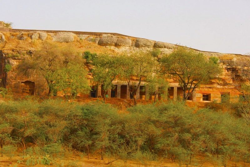 Top 15 Rock cut structures: Bagh Caves, India