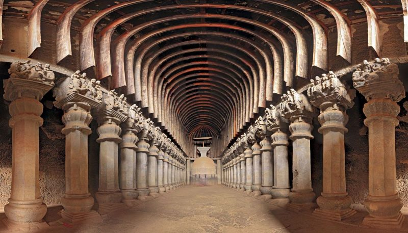 Top 15 Rock cut structures: Karla Caves