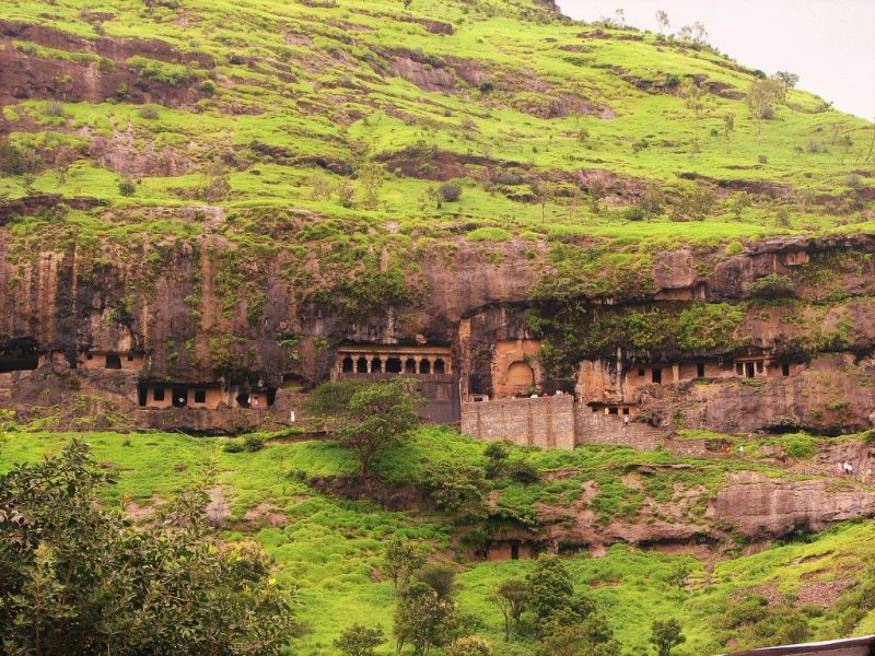 Top 15 Rock cut structures: Lenyadri Caves, India
