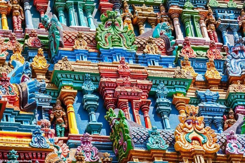 The Meenakshi Temple of Madurai