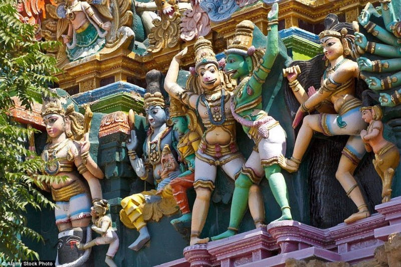 The Meenakshi Temple of Madurai