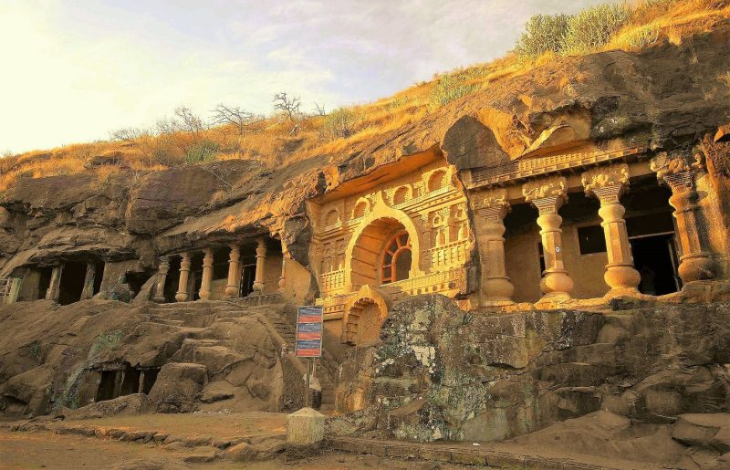Top 15 Rock cut structures: Pandalaini Caves, India