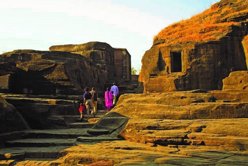 Top 15 Rock cut structures: Udaygiri caves, Madhya Pradesh, India
