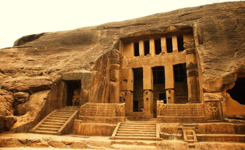 Top 15 Rock-Cut Caves: Kanheri Caves, India