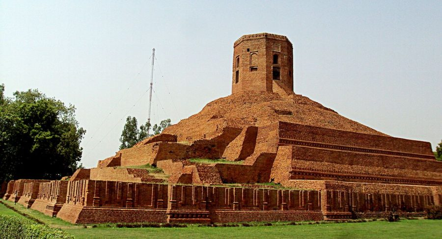Chaukhandi Stupa is an important Buddhist stupa in Sarnath, India.