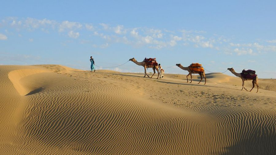 Sam Sand Dunes - Top Tourist Attractions to Visit in Golden City of Jaisalmer
