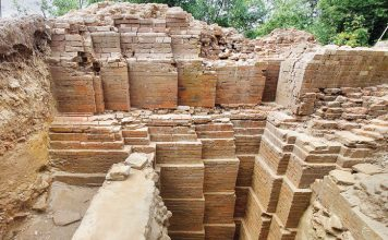 1000-year-old Hindu temple excavated in Dinajpur