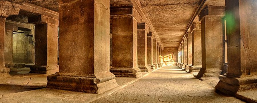Pataleshwar Caves Internal Temple Corridors