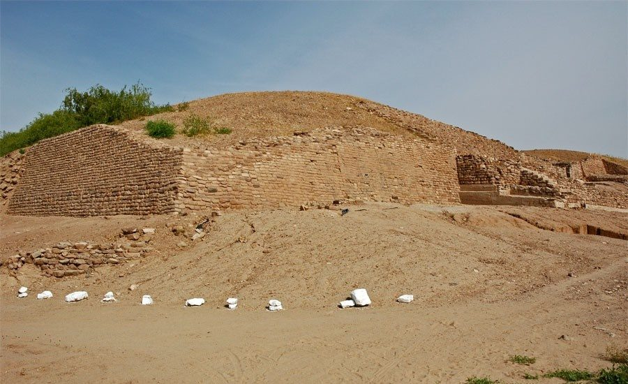 Remains of the citadel at Dholavira