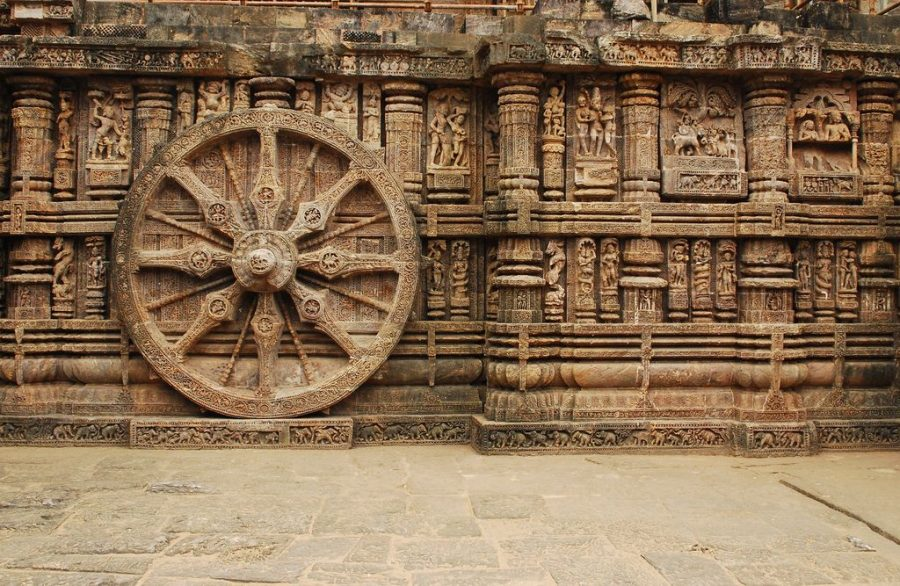 Wheel at Sun Temple Konark
