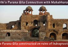 Was Delhi's Purana qila built on the ruins of Indraprastha?