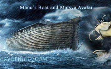 King Manu's Boat, Pralaya and Matsya Avatar vs Noah's Ark and Great Flood
